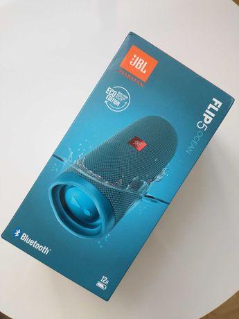 Nowy Głośnik JBL Flip 5 Eco Ocean Bluetooth Gwarancja do 2023 Okazja!