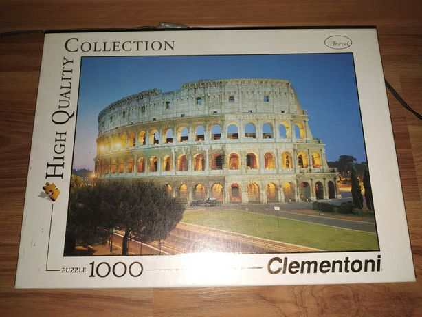 Puzzle 1000 Clementoni High Quality Collection
