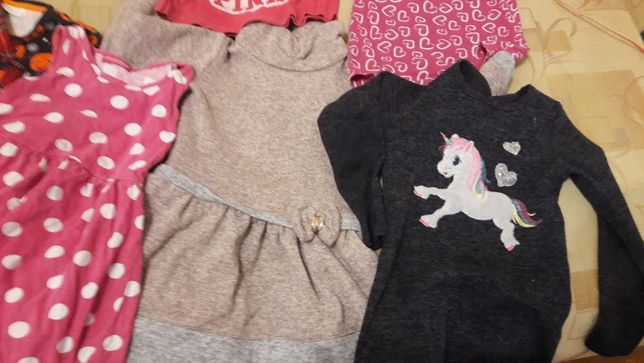 Одежда для девочки:4/5/6 лет и S/XS много подростковой.Состояние новой