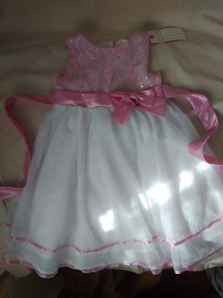 Платье новое нарядное детское для утренника праздника 4-5 лет