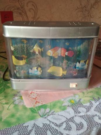 светильник детский - аквариум