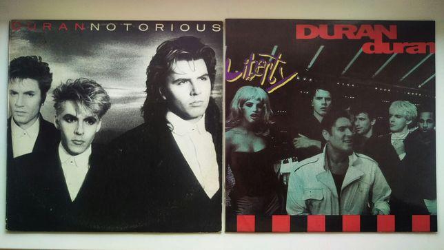 "Duran Duran ""Notorious"" & ""Liberty"". Виниловые пластинки"