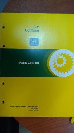 Katalog Części Kombajn John Deere 952