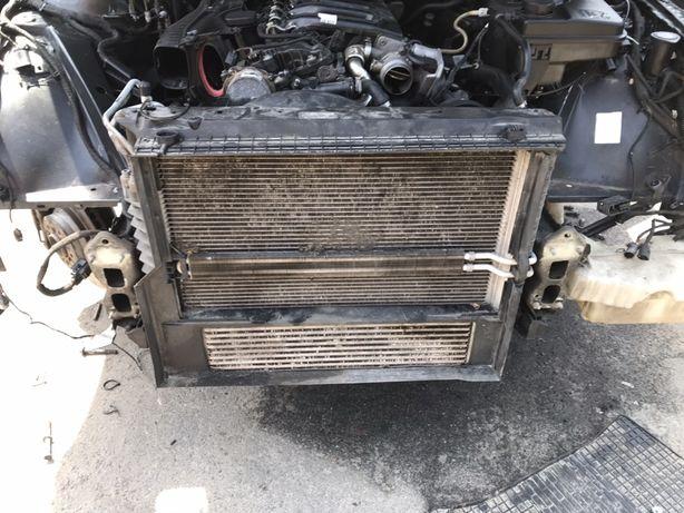 Радиатор патрубок БМВ х5 е53 рест  BMW E53 3.0d M57n турбина