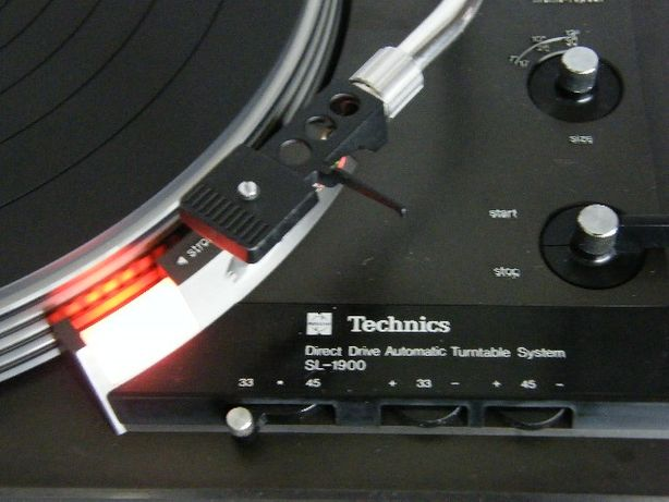 Raro Gira discos Technics SL 1900 direct drive