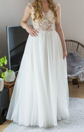 Suknia ślubna ivory ecru