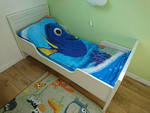 Łóżko dziecięce Ikea Sundvik 160 x 70 + materac + stelaż materaca