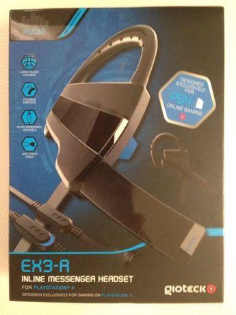 Gioteck EX3-R Инлайн Комунікатор гарнітури - PlayStation 4
