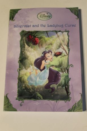 Livro em Inglês - Silvermist and the Ladybug Curse