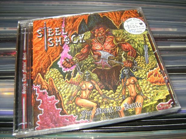 Steel Shock - For Metal To Battle CD