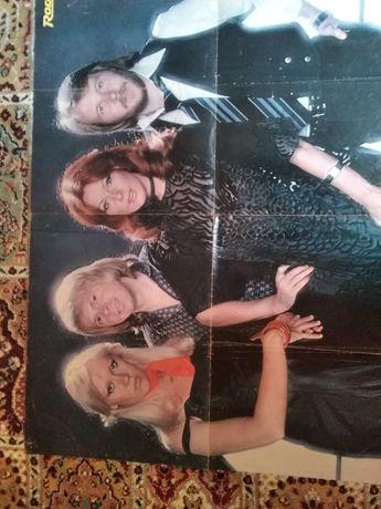 ABBA plakaty postery