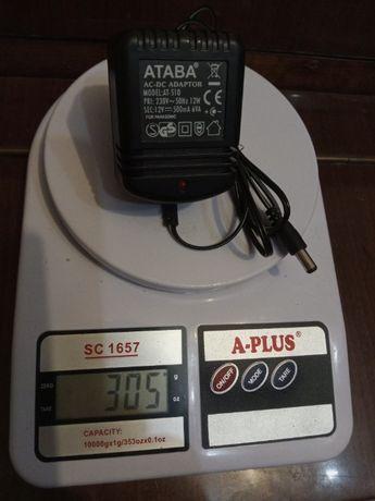 Блок питания ATABA model-at-510 12v-500mA