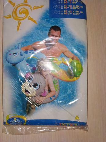 """Продам фигурный круг для плавания INTEX """"черепашка"""""""