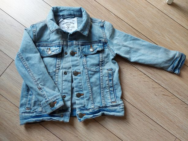 Katana jeansowa, kurtka