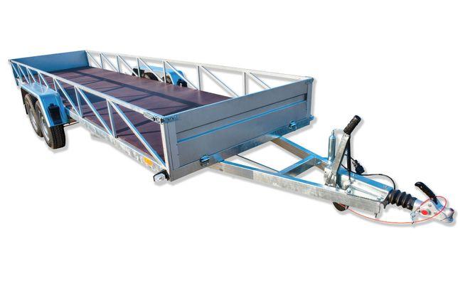 Przyczepa ciężarowa 600x150 dłużyca DMC 1-3,5 t mocna spawana rama