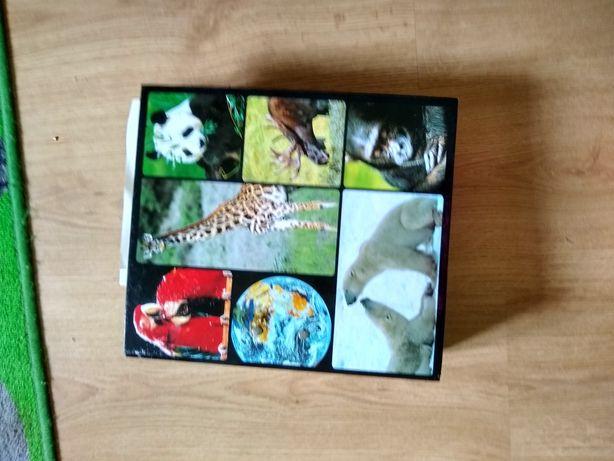 Encyklopedia zwierząt od A do Z  karty /cena do negocjacji/