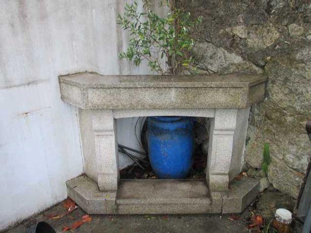 fogão de sala de granito