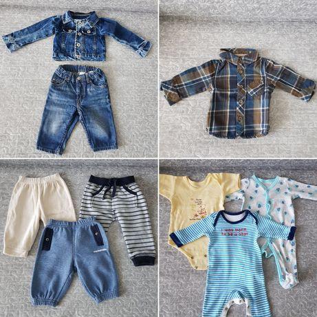 Ubranka niemowlęce w rozmiarze 62