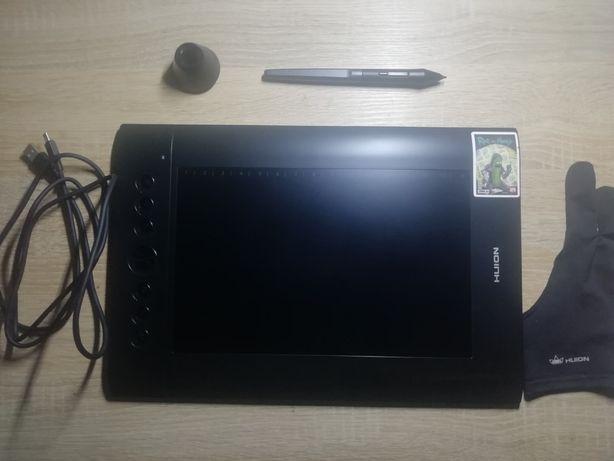 Графический планшет Huion h610 pro v2