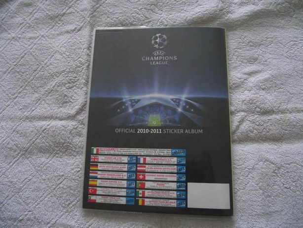 Caderneta UEFA Champions League 10/11 COMPLETA E NOVA
