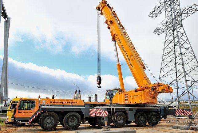 Услуги Аренда автокранов от 10 до 100 тонн