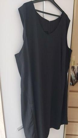 Sukienka czarna ołówkowa roz 56/58