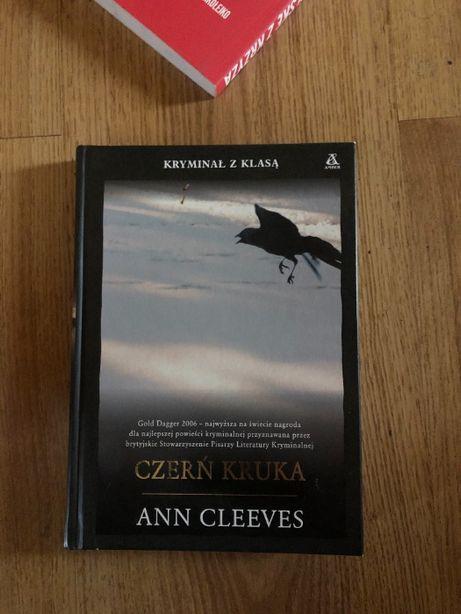 Ann Cleeves Czerń Kruka twarda oprawa