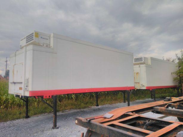 Zabudowa kontener bdf chłodnia izoterma Schmitz 2004 r 725 dł