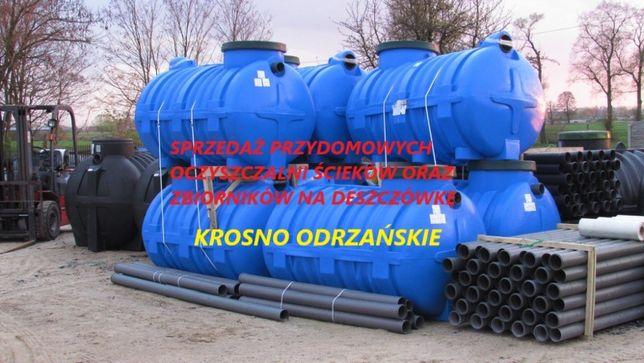 Przydomowe oczyszczalnie zbiorniki na deszczówkę
