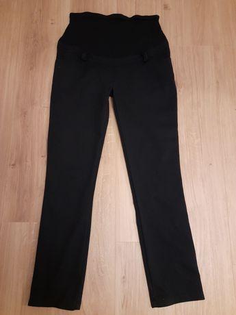 Spodnie ciążowe eleganckie czarne Happymum rozmiar M / L
