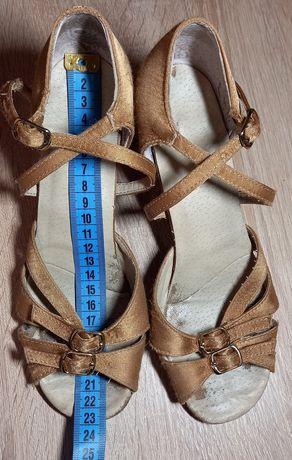 Туфли бальные латина 22,5 размер