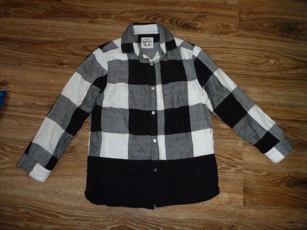 next Рубашка Некст на 9 рост 134 , сделано в Бангладеш, хлопок :длина