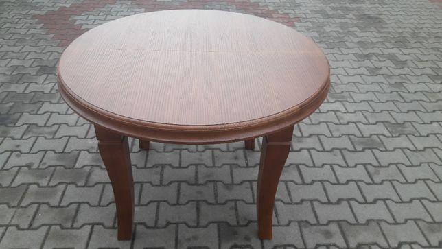 Stół okrągły duzy 110 x 310 Mega rozkładany 8 Nóg HiT Dębowy