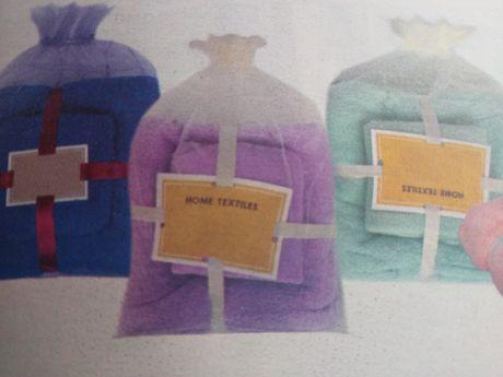 Набор полотенец  70*140 см +40*70 см.