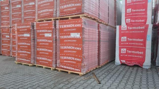 Termoton 25 p+w , Thermopor 25 p+w , Porotherm 25 p+w, Pustaki