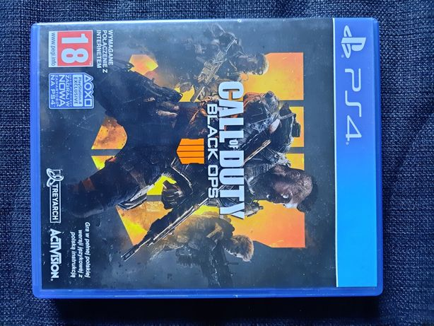 Call of Duty Black Ops 4 / PS4