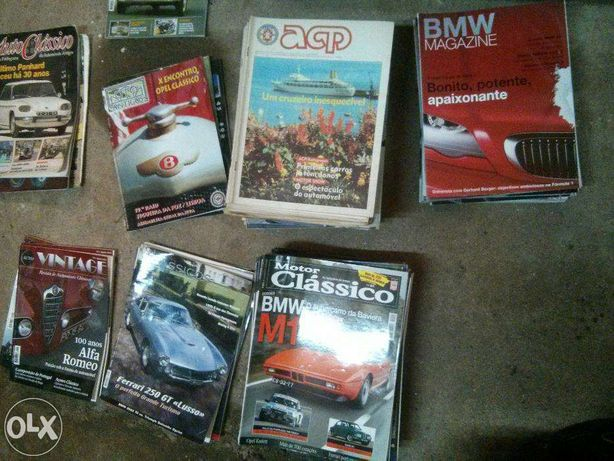 Lote de Revistas Auto