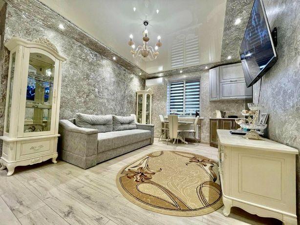 Продается классная 3х комнатная квартира в Центре. Мбл,тхнк.