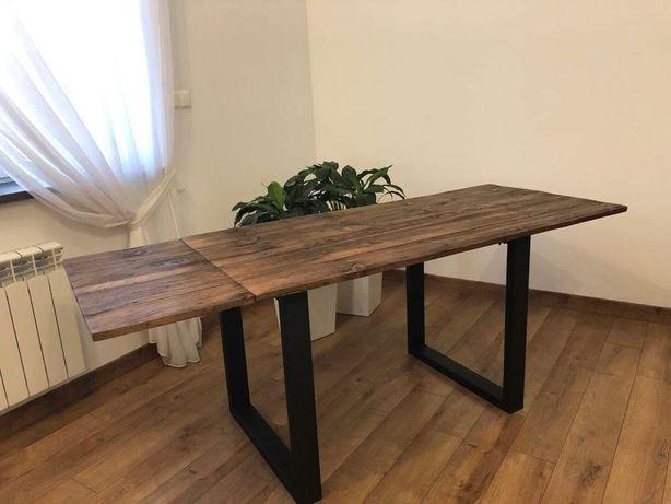 Stół rozkładany stare drewno scandinawian od 120 do 200 cm !!