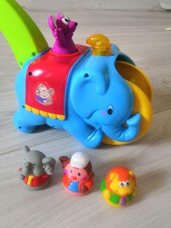 "Каталка ""Слон-циркач"" Kiddieland"