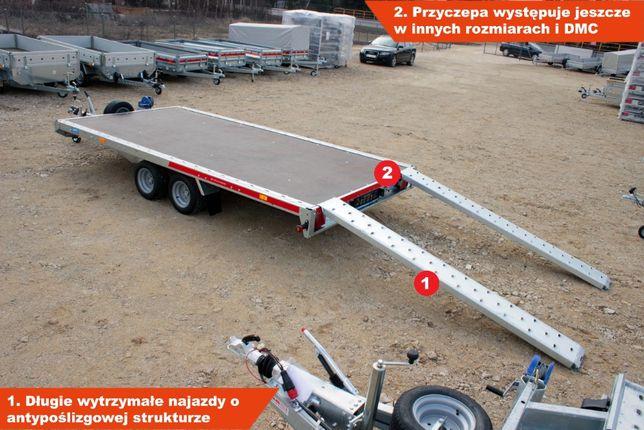 Laweta Platforma GT PLATEAU 400 406x211cm Przyczepka platforma Martz