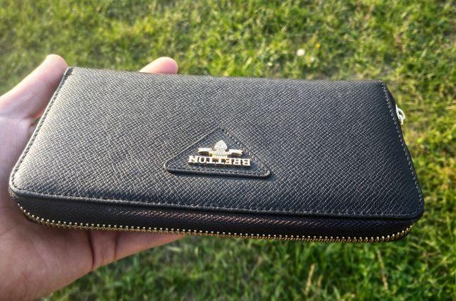 Чёрный женский кошелёк