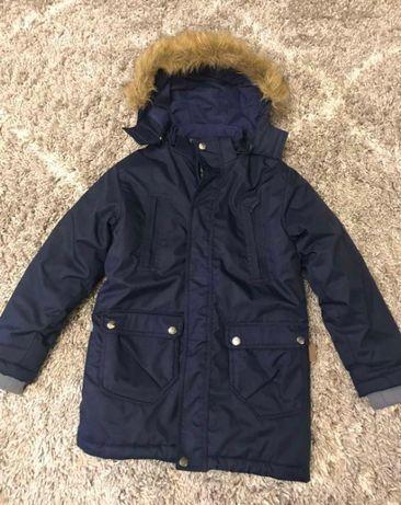 Куртка зимняя для мальчика HUPPA