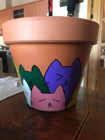 Vaso de barro 25 cm