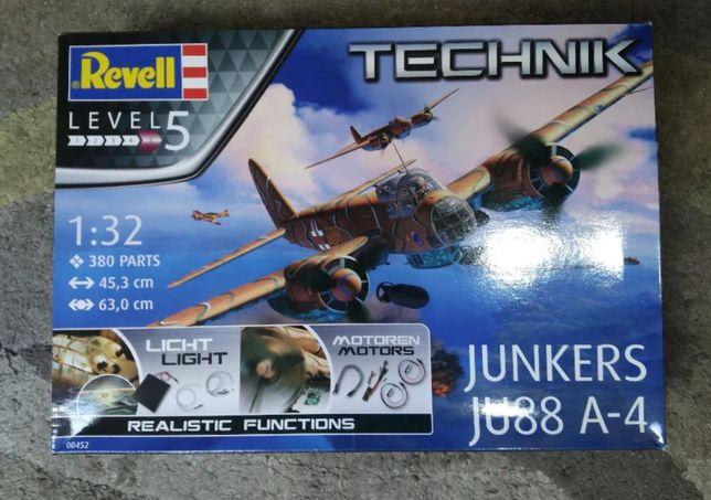 Model do sklejania Technik 00452 Junkers Ju88 A-4