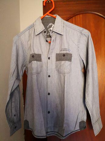 Camisa menino Tiffosi 11-12 anos como nova usada apenas uma vez