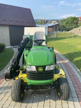 Traktorek kosiarka John Deere X 748 Diesel 24 km, 4x4, wspomaganie