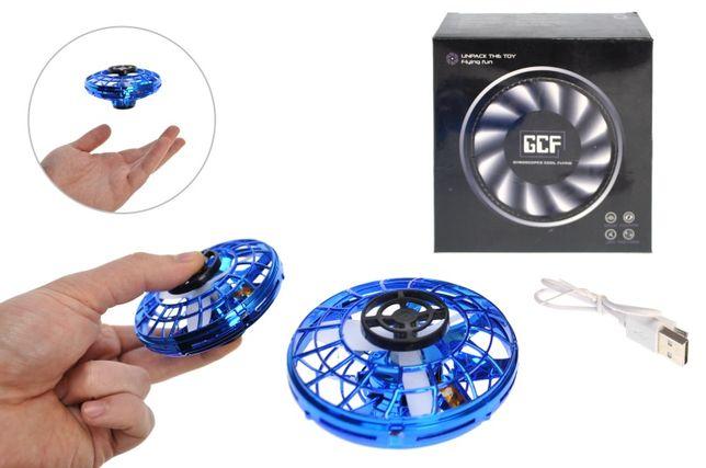 Электроспиннер летающий, Fly Spinner, Летающий спиннер с LED подсветко