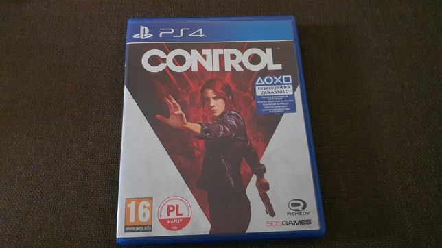 Control (PS4) Stan idealny