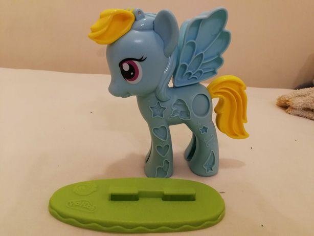 Rainbow dash My Little Ponny Playdoh do ciastoliny